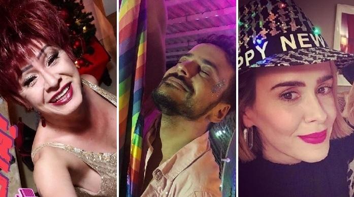 10 famosos gays, lésbicas e trans comemoram chegada de 2019