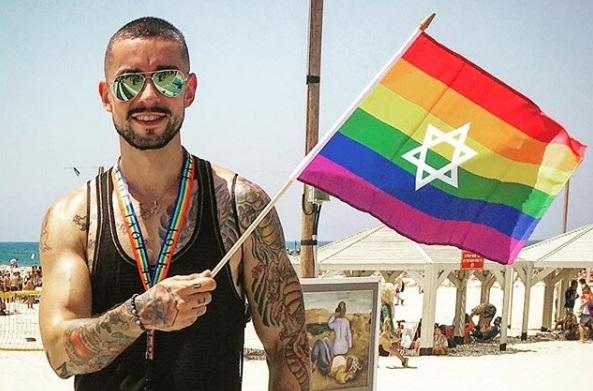 20 imagens da Parada LGBT de Tel Aviv em Israel - 2018