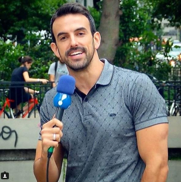 Os 30 jornalistas mais gatos da TV no Brasil em 2018: Teo Taveira da RedeTV!