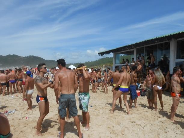 Bar do Deca, na Praia Mole, um dos points gays de Floripa