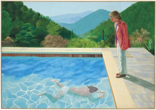 David Hockney: pintura gay bate recorde em leilão