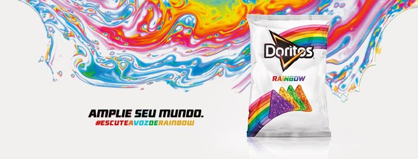Doritos Rainbow celebra o orgulho LGBT e será vendido em São Paulo, Rio e Paraná
