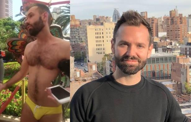 Gay é expulso de festa por sunga indecente