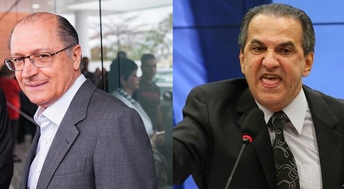 Silas Malafaia e Geraldo Alckmin: movimento gay