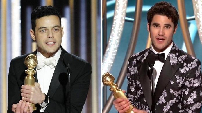 Filmes e séries gays venceram o Globo de Ouro 2019: Rami Malek por Bohemian Rhapsody e Darren Crissi por Assassinato de Gianni Versace: American Crime Story