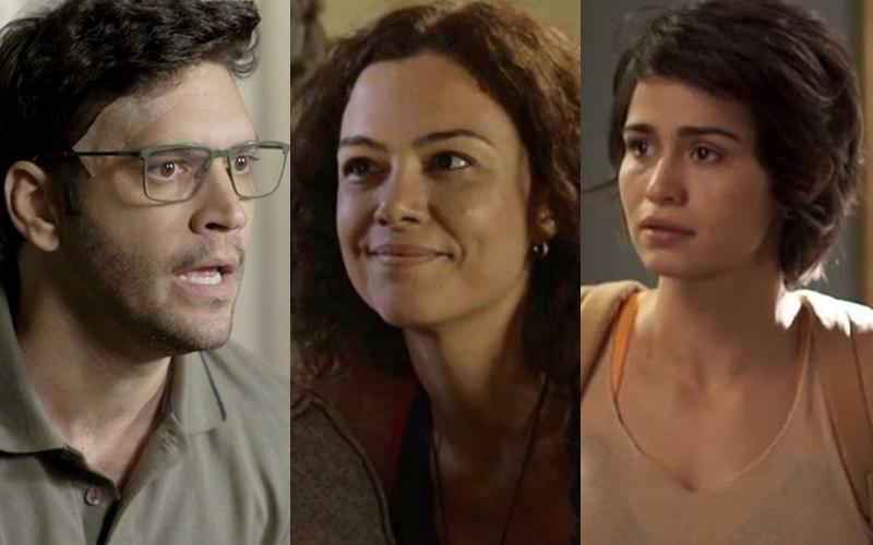 Ionan, Selma e Maura terminarão juntos em um trisal em Segundo Sol