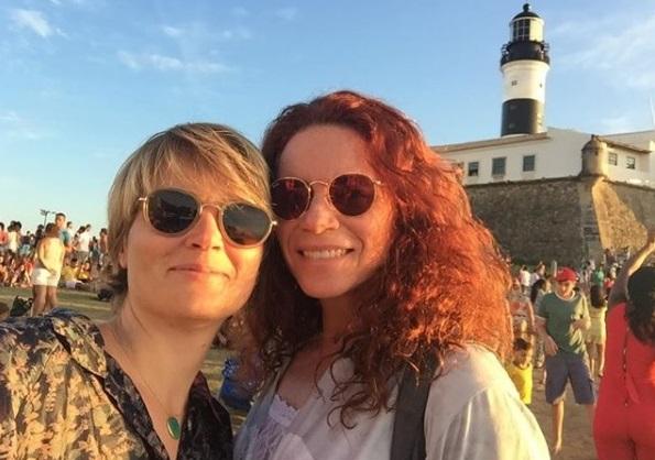 Leilane Neubarth e Isabela Bellenzani