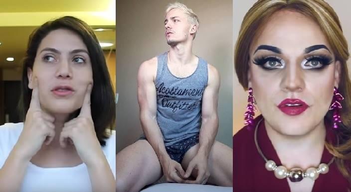 Mandy Candy, Lorelay Fox, Rafael Supernok: youtubers LGBT
