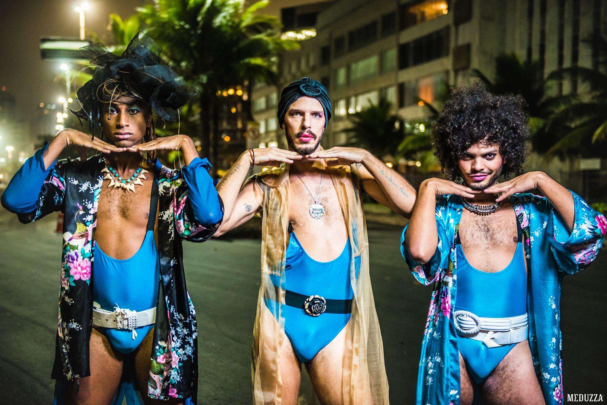 Grupo #NãoRecomendados se apresenta no Festival Transborda de Cultura sem Gênero, no Top Teatro, em São Paulo