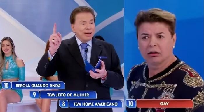 Programa Silvio Santos faz 'brincadeira' contra gays novamente