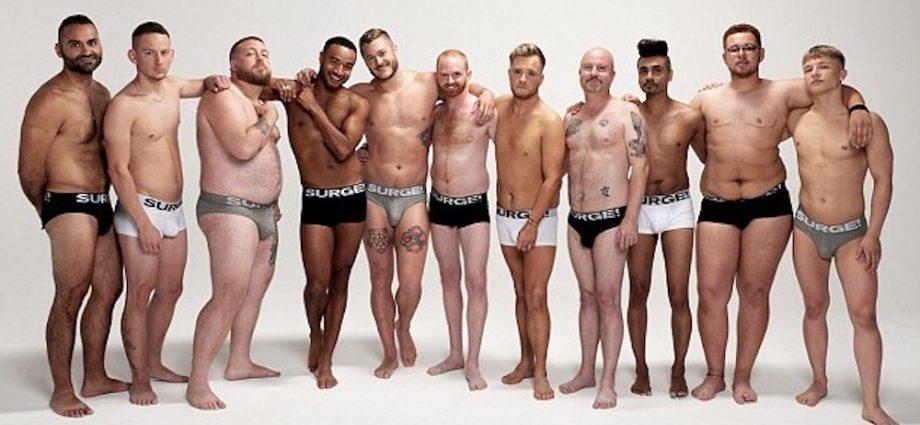 Marca Surge de cuecas faz campanha com homens gays, cis e transexuais